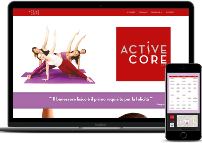 CLIENTE: ASD Active Core – www.asdactivecore.it