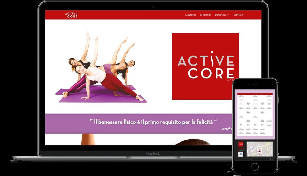 CLIENTE: ASD Active Core – www.asdactivecore.it