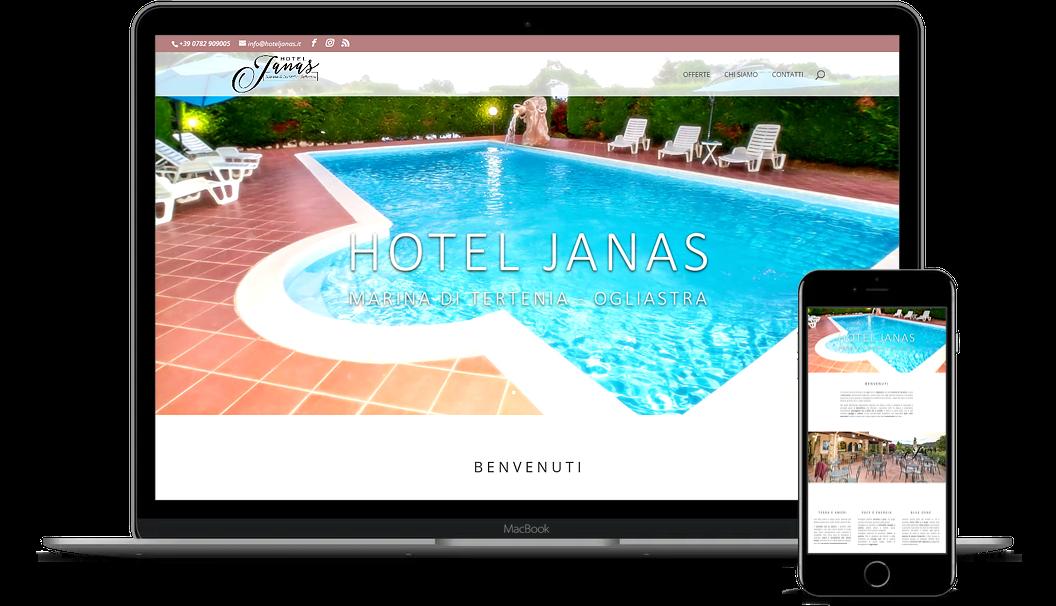 CLIENTE: Hotel Janas – www.hoteljanas.it